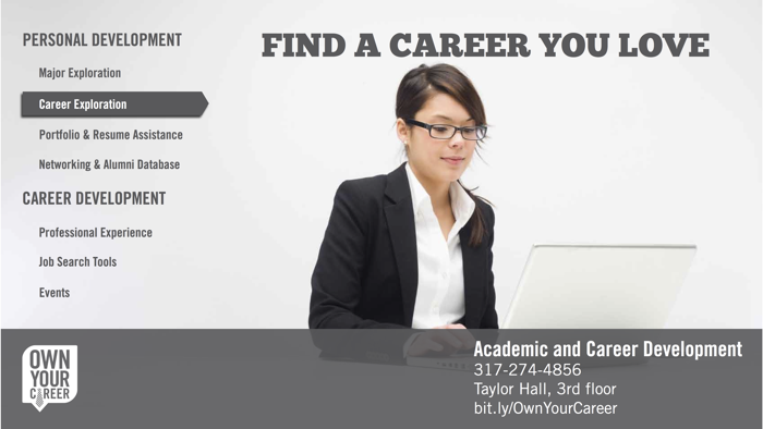 Branding: Career Services at IUPUI